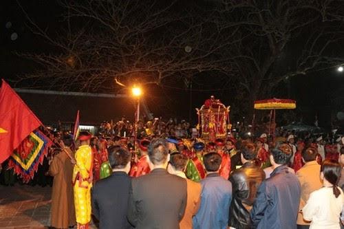 Đền Trần Nam Định, lễ hội khai ấn xuân Mậu Tuất 2