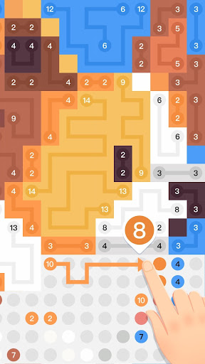 Draw Puzzle : Pixel Connect Dots modavailable screenshots 4