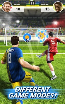 Fotbal Strike - Multiplayer Soccer APK screenshot thumbnail 3