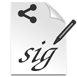 Signature Share Icon