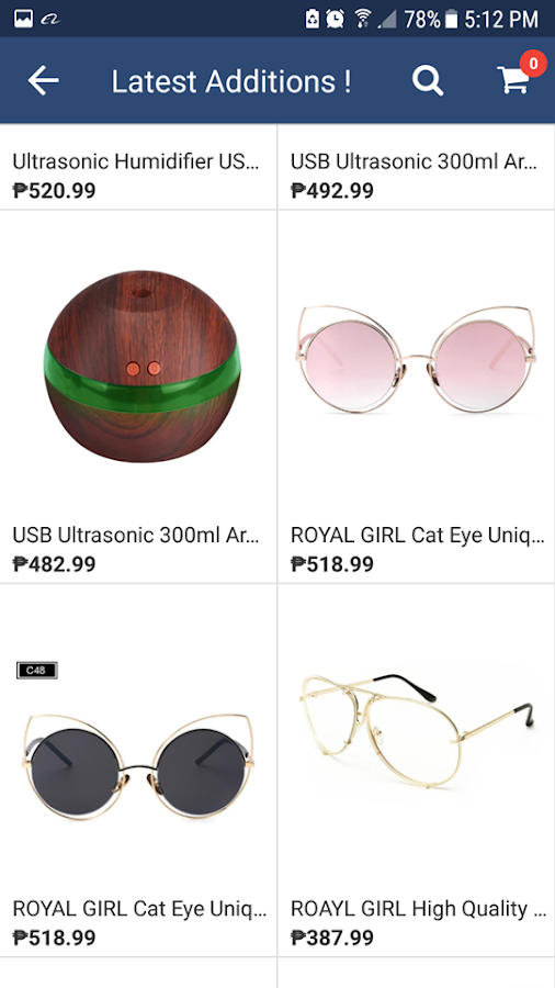 Marjose Online Shopping- screenshot