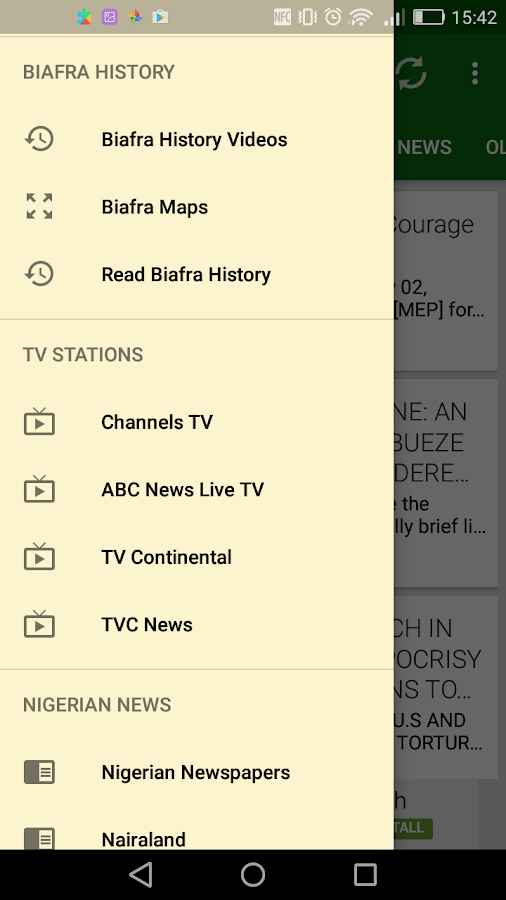 Biafra News + Radio + TV + App Extra- screenshot
