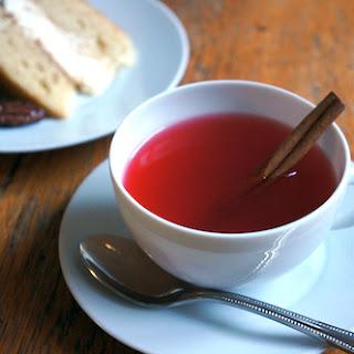 Cranberry Tea.