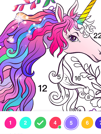 No.Paint - Relaxing Coloring games apkdebit screenshots 18