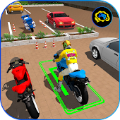 Bike Parking 2017 - Motorcycle Racing Adventure 3D