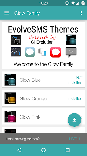 EvolveSMS Glow Family