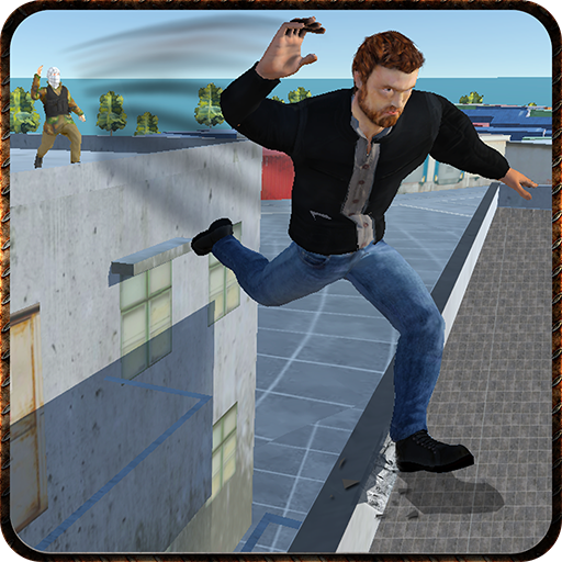 Rooftop Real Gangster Mad City game (apk) free download for Android/PC/Windows