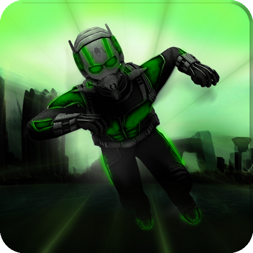 Ant Superhero man-micro transform hero battle (game)