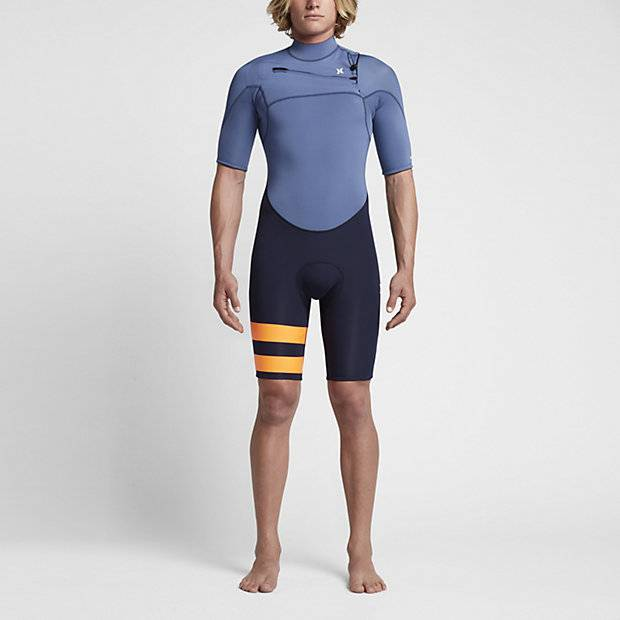 HURLEY - Fusion 202 Springsuit Blue/Black/Orange