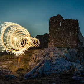 by Luca Arșinel - Abstract Light Painting (  )
