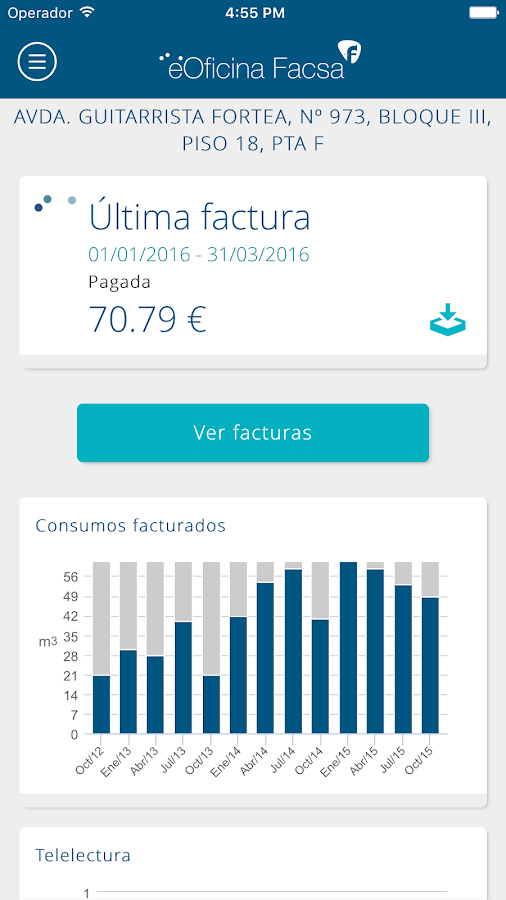 eOficina Facsa- screenshot