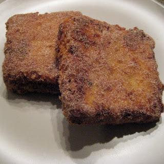 Leche fritta - Fried milk.
