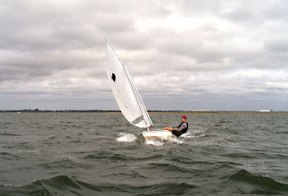 Photo: Mike Putnam with good upwind form.