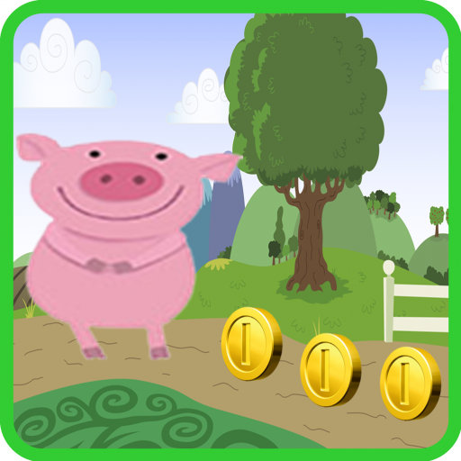 Peppa Diving jumping pig world