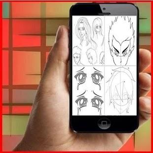 Tutorial Drawing Anime for PC-Windows 7,8,10 and Mac apk screenshot 2