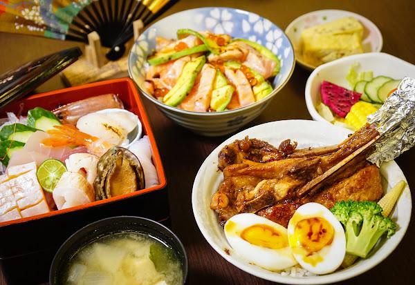 必吃豪華海鮮盒x法式豬排丼~高雄美術館區最新鮮日式丼飯-戶谷川和食處