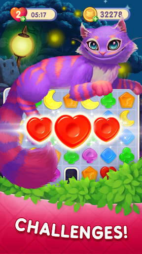WonderMatchuff0dFun Match-3 Game free 3 in a row story 2.8 screenshots 5