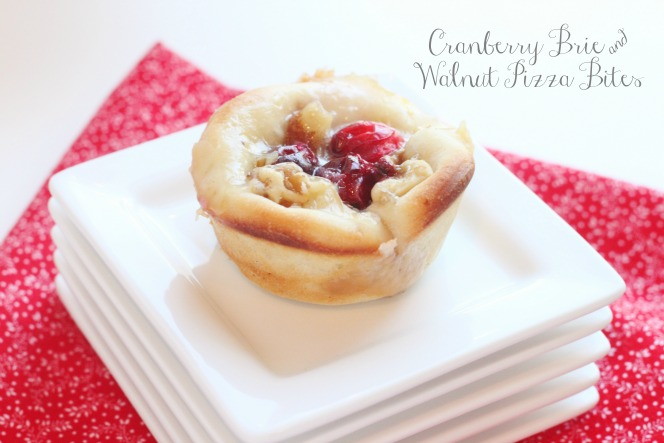 Cranberry Brie and Walnut Pizza Bites Recipe | Yummly
