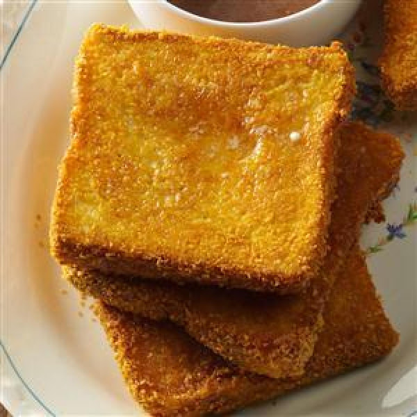 Cornflake-coated Baked French Toast Recipe