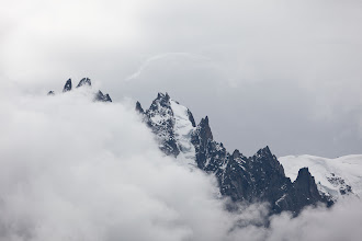 Photo: We hiked the Balcon Sud from Argentiere to Chamonix.