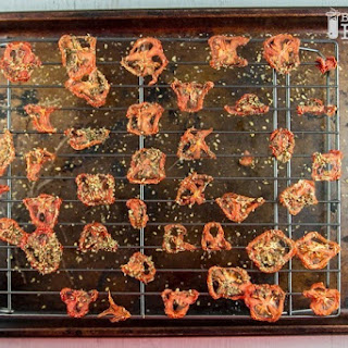 Oven-Dried Tomato Chips.