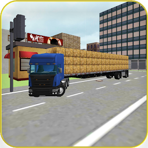 Hay Truck 3D: City for PC and MAC