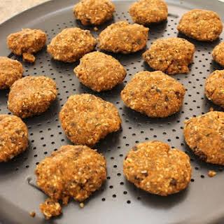 Carrot Pulp Cookies (Raw, Vegan, Gluten-free).