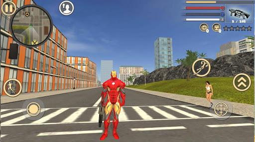 Code Triche Iron Rope Hero: Vice Town APK MOD screenshots 4