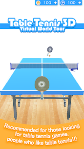 Table Tennis 3D Virtual World Tour Ping Pong Pro 1.0.30 MOD (Unlimited Money) 1