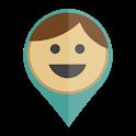 Family GPS tracker KidsControl icon