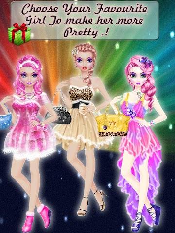 android Christmas Prom Night Salon Screenshot 1