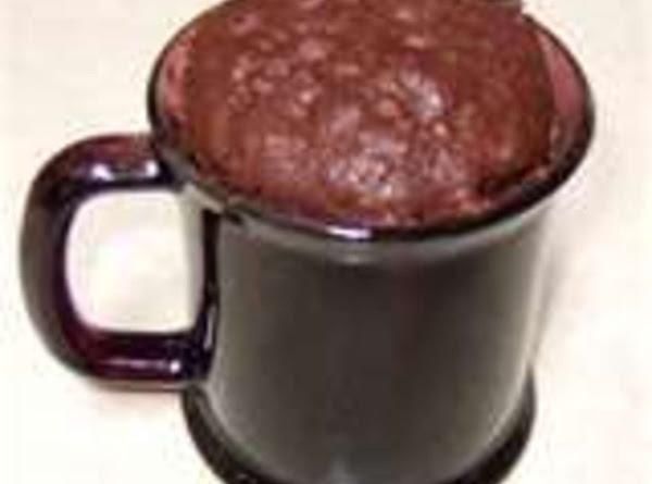 Dangerous Chocolate Cake-in-a-mug (made Better) Recipe