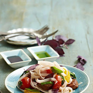 Pork, Basil and Orange Stir Fry