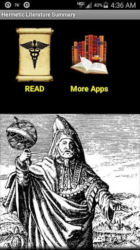 Hermetic Literature Summary