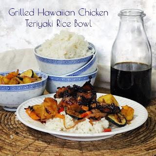 Grilled Hawaiian Chicken Teriyaki Rice Bowls
