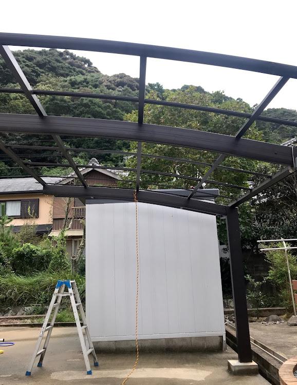 台風 対策 ポート カー