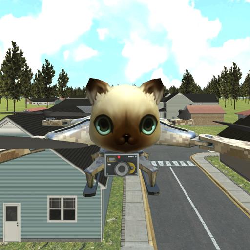 模擬App|猫無人飛行冒険シム LOGO-3C達人阿輝的APP