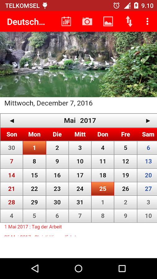 deutsch kalender 2017 android apps on google play. Black Bedroom Furniture Sets. Home Design Ideas