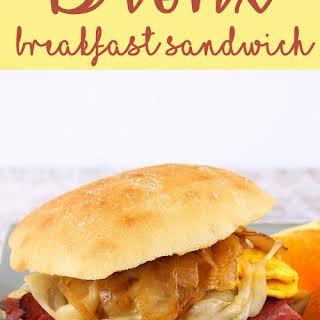 Bronx Breakfast Sandwich.