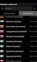 Screenshot of GeoRadar