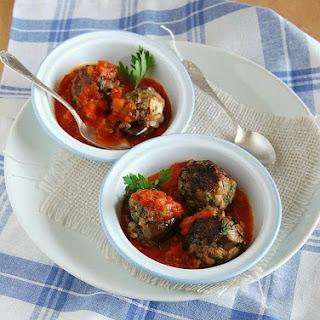 Aubergine Meatballs