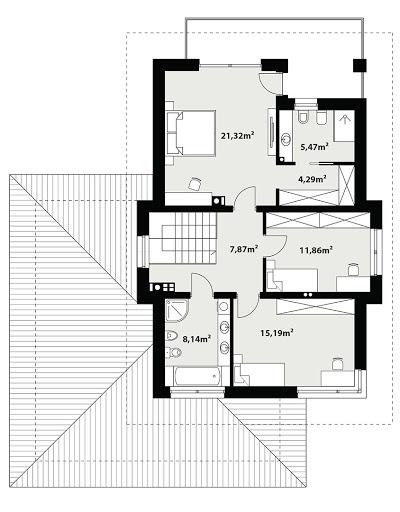 Karat 2 - Rzut piętra