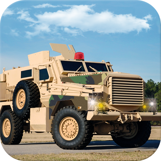 Military Base Commando Transport Drive simulator