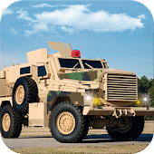 Military Base Commando Transport Drive simulator
