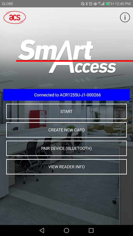ACS SmartAccess- screenshot