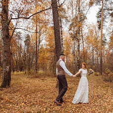 Wedding photographer Yuliya Egorova (egorovaylia). Photo of 22.10.2018