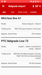 Belgrade Airport- screenshot thumbnail