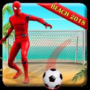 Game Superhero Beach Soccer : Real Football Game 2018 APK for Windows Phone