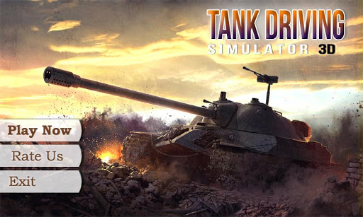 Tank Driving Simulator 3D