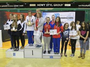 Photo: VI Ogólnopolska Gimnazjada Strzelecka Krosno - drużyna dziewcząt w pistolecie z PG20 III miejsce